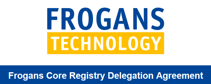 Frogans Core Registry Delegation Agreement (FCRDA)