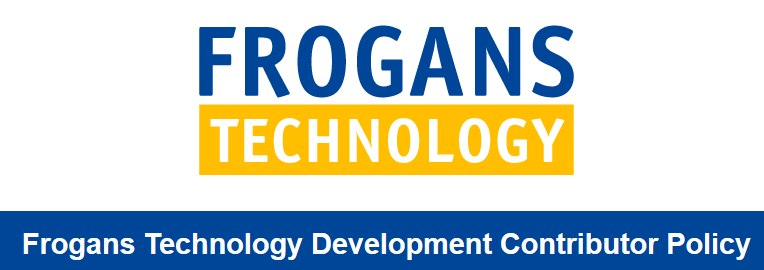 Frogans Technology Development Contributor Policy (FTDCP)