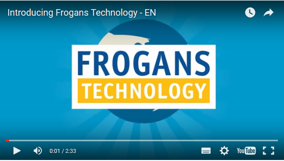 Introducting Frogans Technology video English version