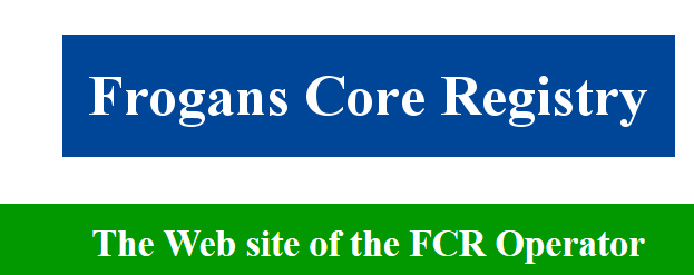 The Web site of the FCR Operator