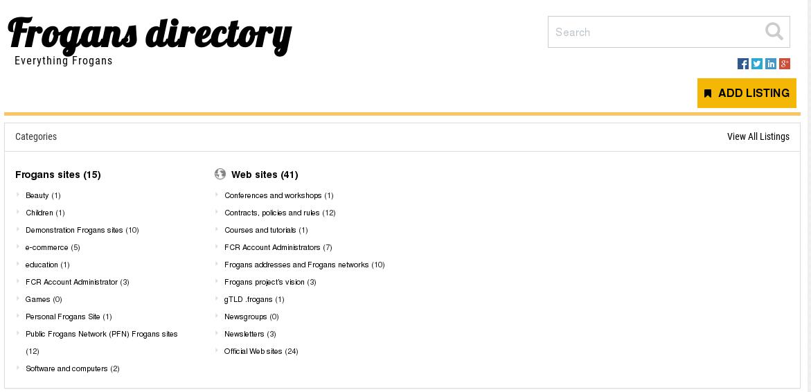 frogans-directory