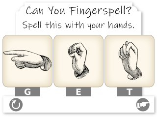 frogans*Fingerspelling